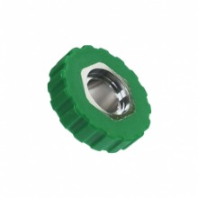 펀다이버몰[텍라인/TECLINE] 딘휠 그린 Nitrox / DIN Wheel Green(*)TECLINE[PRODUCT_SEARCH_KEYWORD]